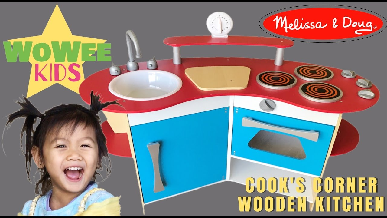 Cook\'s Corner Wooden Kitchen | Melissa & Doug | Princess Belle ...