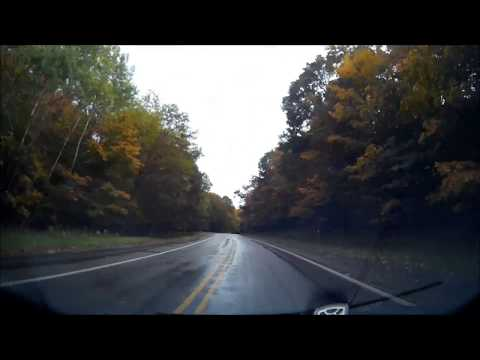 M-22 driving timelapse
