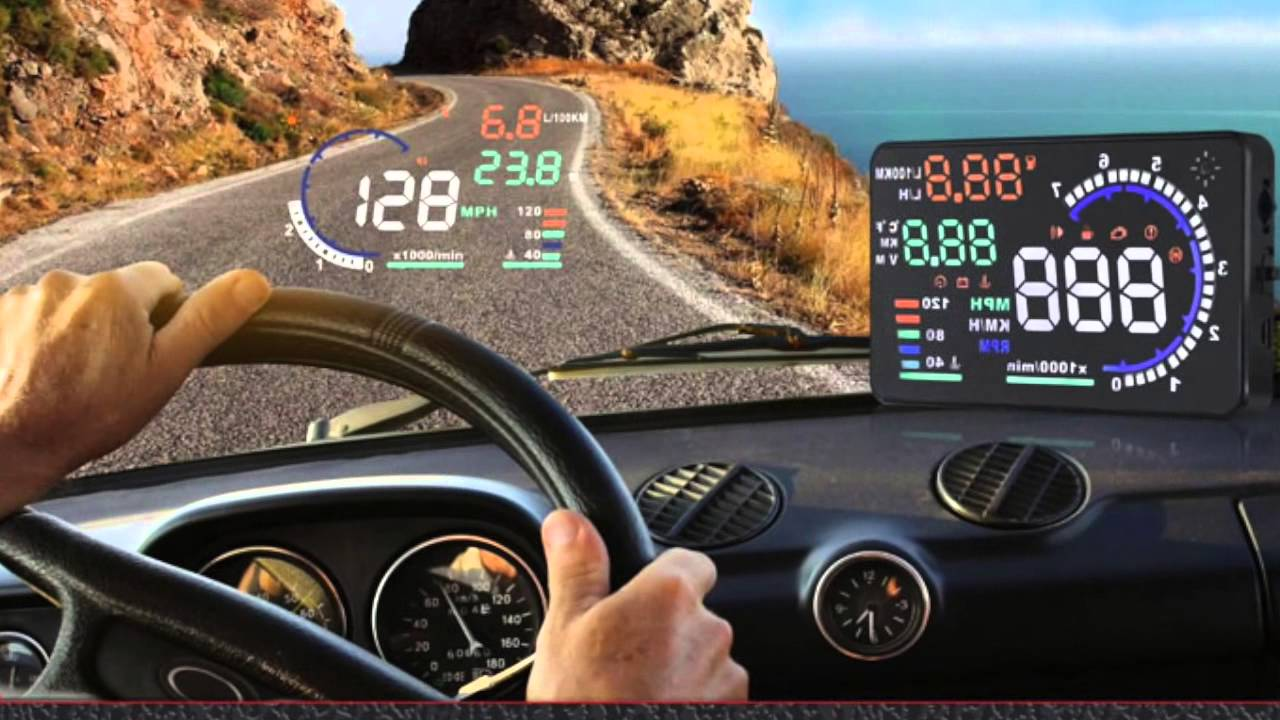 car hud head up display windscreen projector youtube. Black Bedroom Furniture Sets. Home Design Ideas