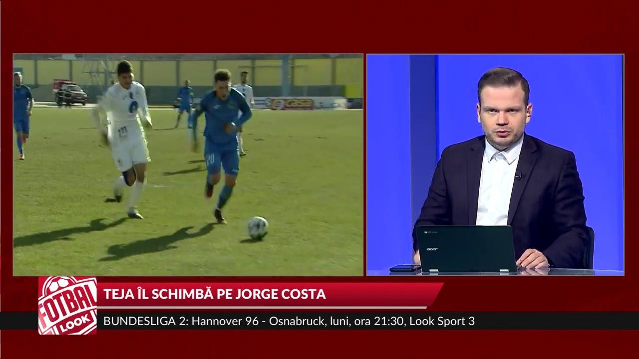 Fotbal Look: MIhai Teja, în locul lui Jorge Costa la Mediaş