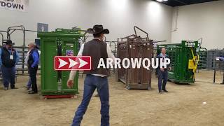 Manual Cattle Chutes & Scales Showdown | NCBA Cattle Convention 2020 | Brought to you by Arrowquip