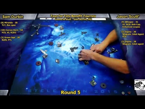 X-Wing Miniatures Toys for Tots 2015, Games & Stuff Round 5
