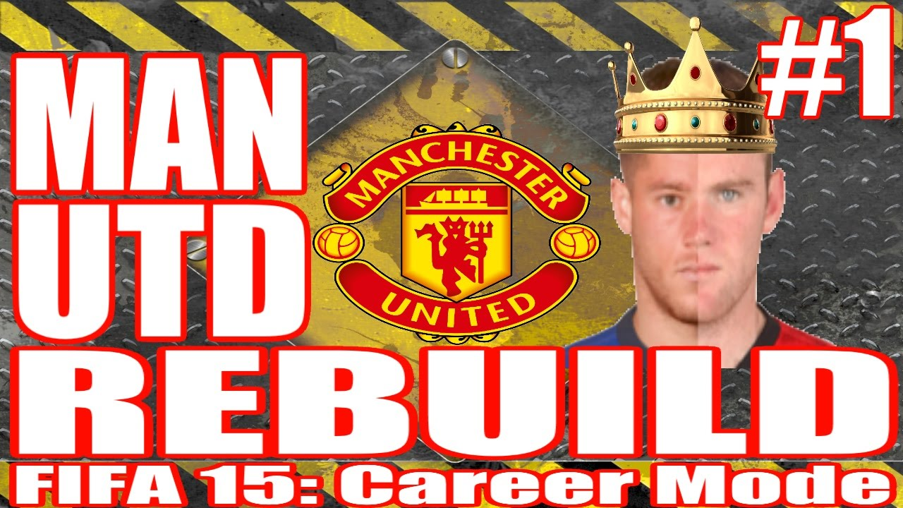 FIFA 15 Career Mode Manchester United Rebuild // EP 1 // The Heir to Rooney