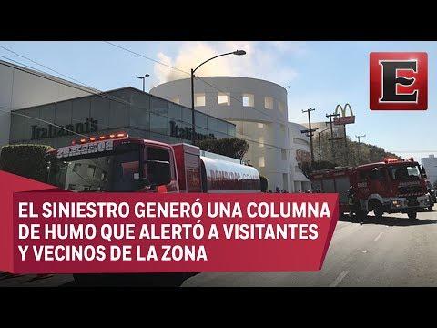 LO ÚLTIMO: Incendio en un restaurante de Plaza Universidad