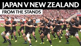 Japan v New Zealand in Tokyo | A fan's perspective