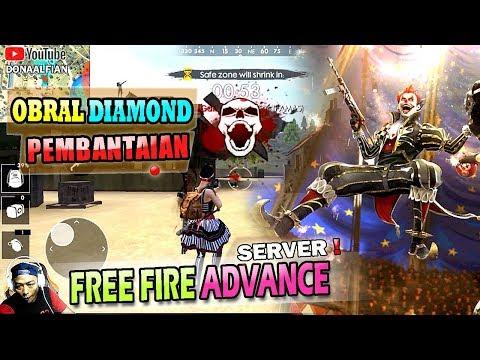 OBRAL DIAMOND dan PEMBANTAIAN di ADVANCE SERVER FREE FIRE - YouTube