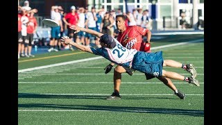 2017 AUDL Playoffs: DC Breeze at Toronto Rush — East Division Championship