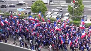 横浜F・マリノス 試合前行進 『民衆の歌』|J1第12節2019