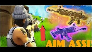 They nerfed aim assist? NO PROBLEM (Fortnite BR) (Highlights) #LGR