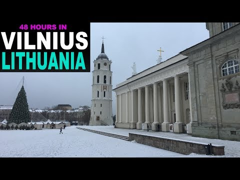 A Tourist's Guide to Vilnius, Lithuania