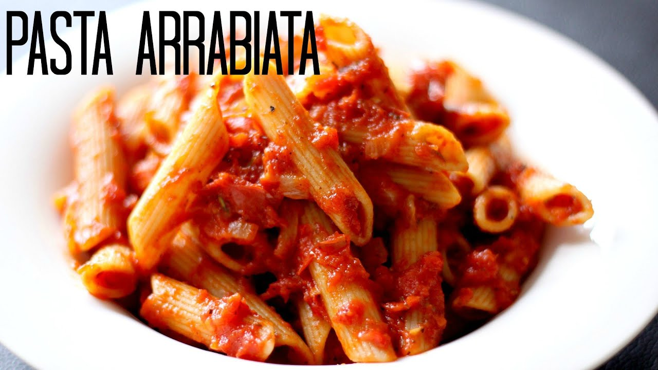 Pasta Arrabiata Vegetarian Tasty Tuesday Crispyoven