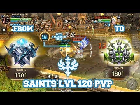 Saints PvP LvL 120  PvP With Awakening Skill - Dragon Nest M #AKMJ Gaming