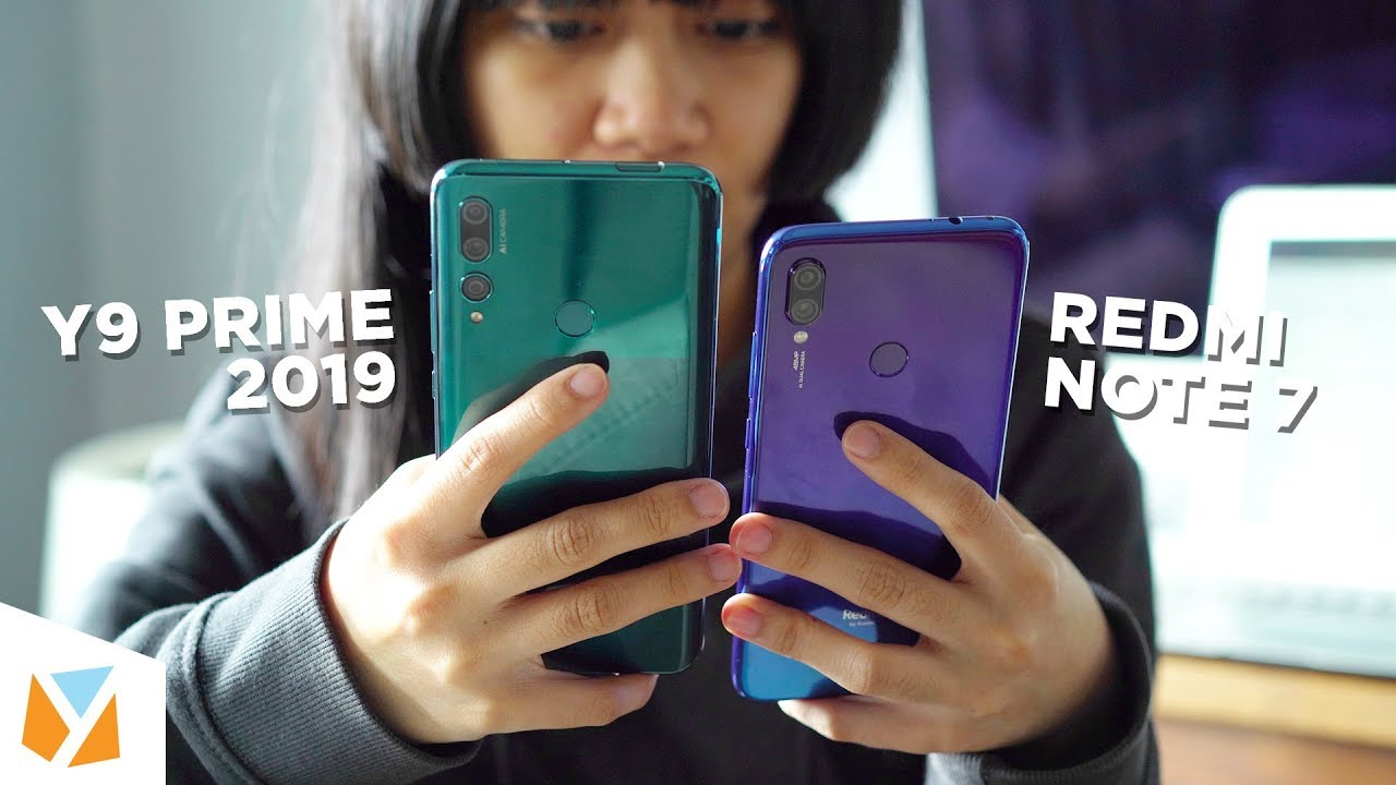 Download Huawei Y9 Prime 2019 vs Xiaomi Redmi Note 7 Compar