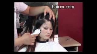 hairxx #005 undercutting haircut