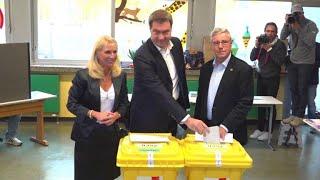 CSU verliert absolute Mehrheit in Bayern - Grüne stark