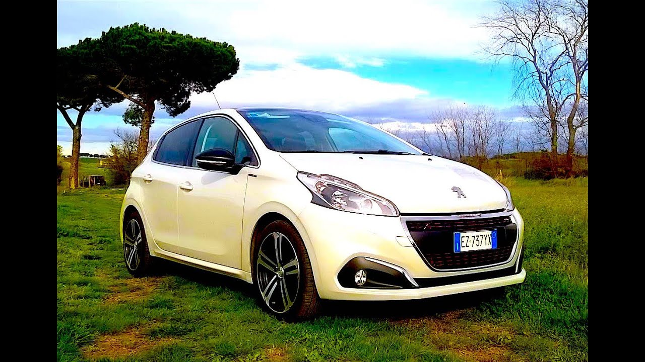 new peugeot 208 gt line 2016 first test drive eng ita. Black Bedroom Furniture Sets. Home Design Ideas