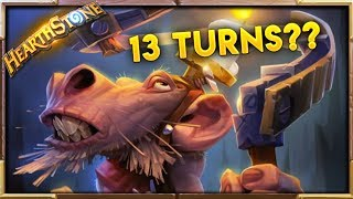 TAKING 13 CONSECUTIVE TURNS ??!! | Best Moments & Fails Ep. 11 | Hearthstone