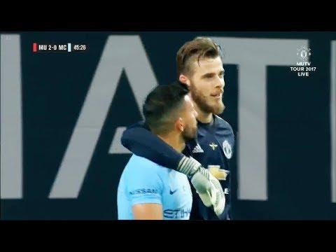 David De Gea vs Manchester City 2017 • Manchester United vs Manchester City 2017
