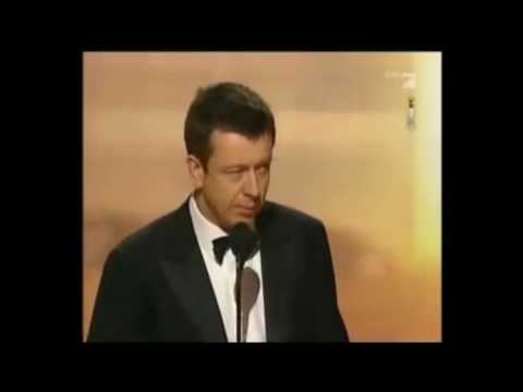 Peter Morgan speech at the Golden Globe Awards 2007
