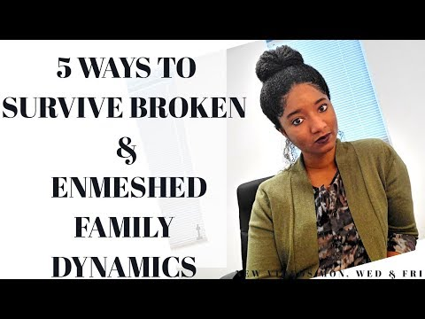 FAMILY: 5 Ways To SURVIVE Enmeshed Dynamics-Psychotherapy Crash Course
