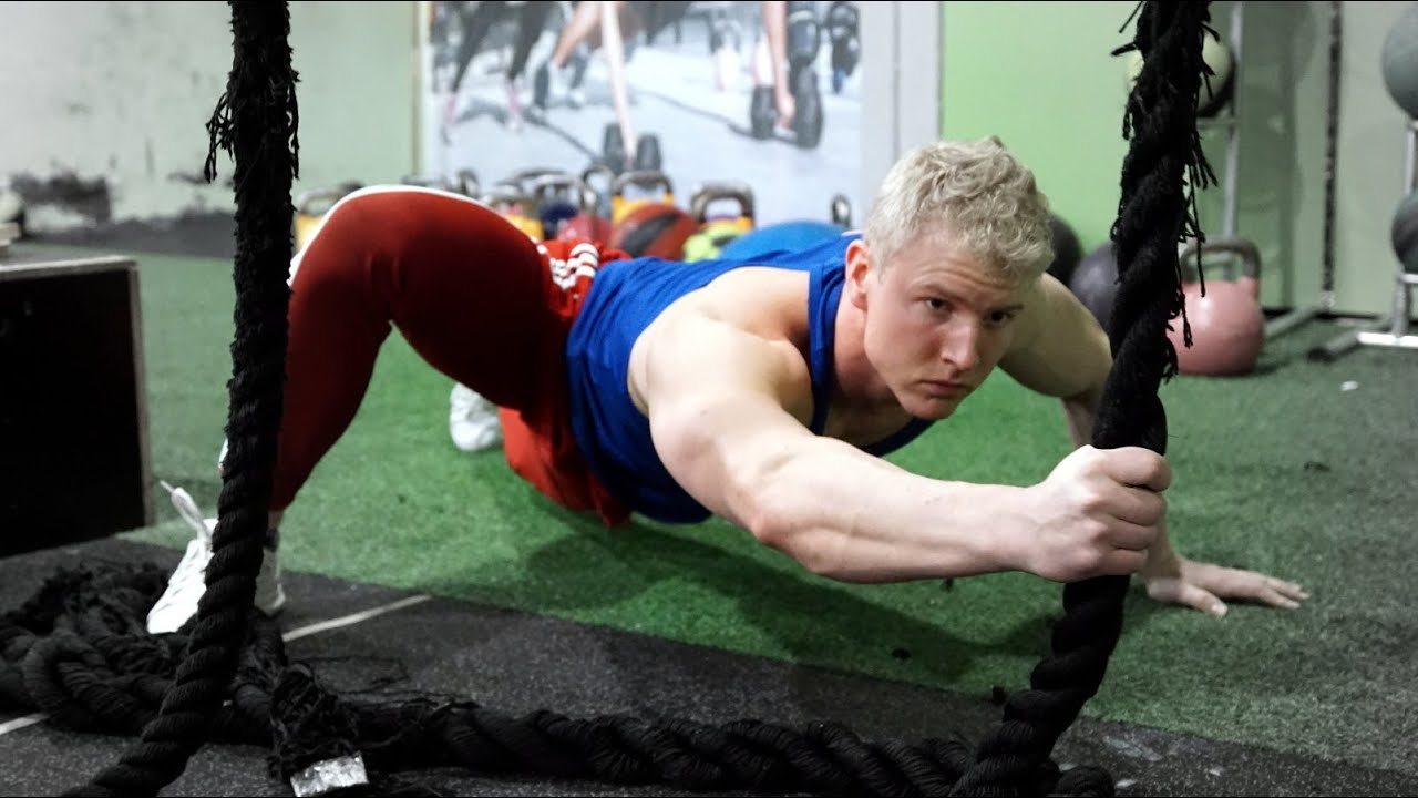 lizard crawl and rope climb for a complete upper body workout youtube
