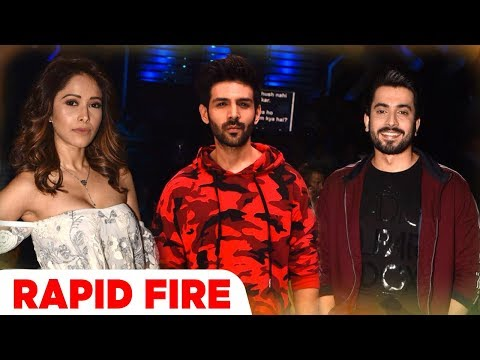 Sonu Ke Titu Ki Sweety | Rapid Fire | Nushrat Bharucha | Kartik Aaryan | Sunny Singh