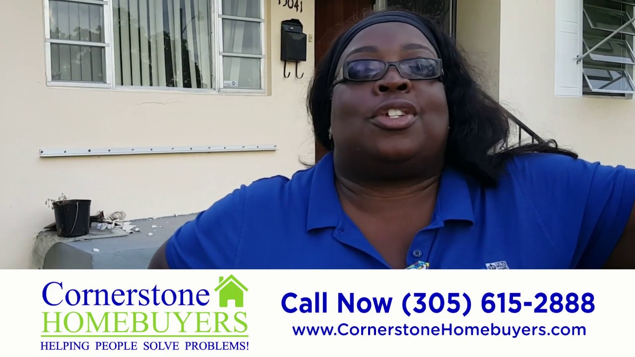 Cornerstone Homebuyers Review - Sell My Inherited House in Foreclosure - We Buy Miami Houses
