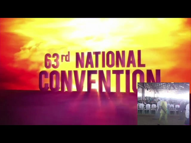 Closing Service of the 63rd Annual Convention of the Foursquare Gospel Church in Nigeria