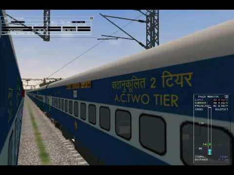 MSTS Indian railways howrah to gaya jn 6