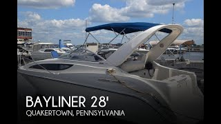 Used 2005 Bayliner 285 Ciera Sunbridge For Sale In Philadelphia, Pennsylvania