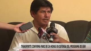 TRANSPORTE CONFIRMA PARO DE 24 HORAS EN DEFENSA DEL PROGRAMA GNV