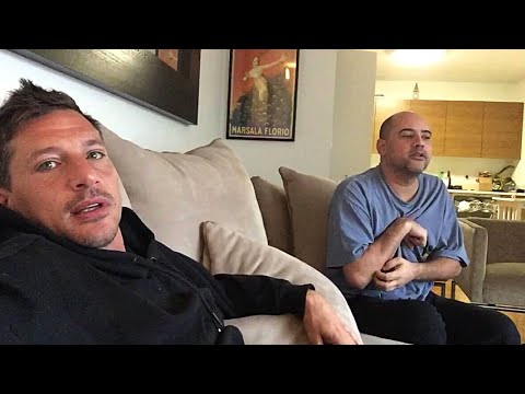 Simon Rex and NY Joey Wake Up & Argue