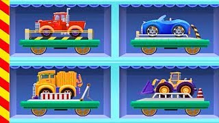 Поезд перевозит грузовики и машины. Поезд и машинки мультик. Поезд для детей. Поезда мультики.