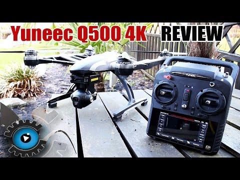 Yuneec Typhoon Q500 4K Drohne/Quadrocopter Test - Review [Deutsch/German]