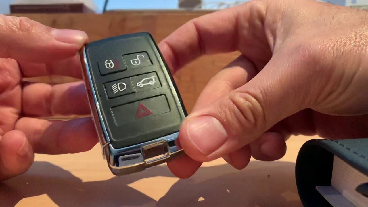 Land Rover Discovery 5 Key Fob Battery Replacement Youtube