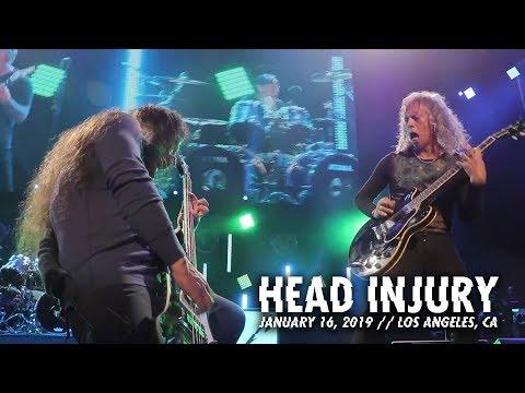 Metallica: Head Injury (Los Angeles, CA - January 16, 2019)