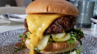 The secret recipe for plant-based vegan burgers | Chef David Lee, Planta
