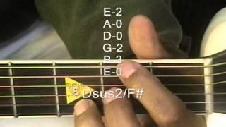 Guitar Chord Form Tutorial #147 Sarah Mclachlan Style Chords Lesson EricBlackmonMusic