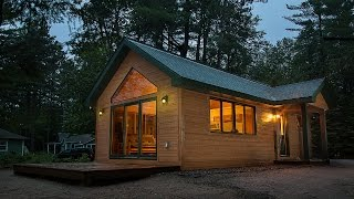 Tiny Cabin by Dickinson Homes