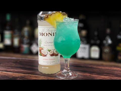 Coconut Syrup Recipe - Blue(ish) Pina Colada TIKI RIFF