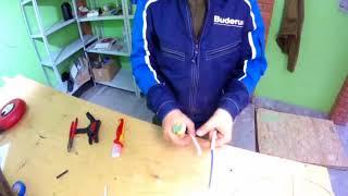 Выбор типа ножа для зачистки провода. /уроки для земсква.