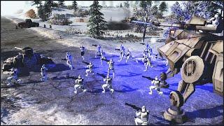 CLONES VS COMMIES - Star Wars: Galaxy at War Mod Gameplay
