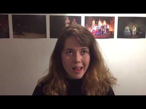 Fanny, élève et comédienne au Studio Muller