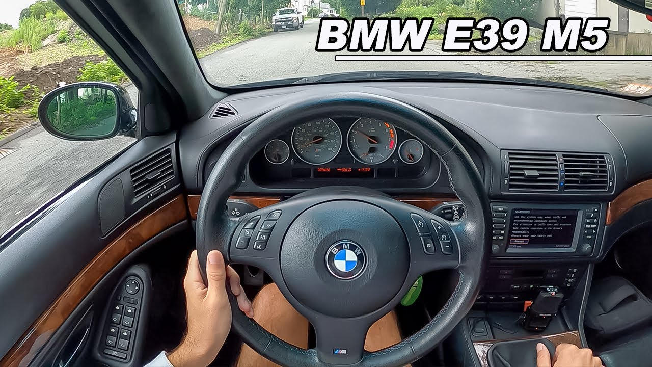 2001 BMW E39 M5 - BIG Repairs Required (POV Binaural Audio)