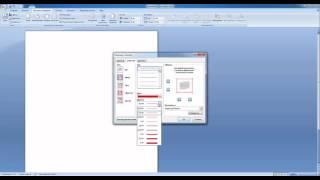 Как вставить рамку в Word 2007 и Word 2010
