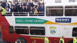 Kerry Teams Homecoming All-Ireland Champions 2014