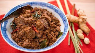 Beef Rendang Recipe   Pai's Kitchen | Malaysian / Indonesian Recipe