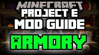 Project E | Minecraft Mod Guide | Minecraft Mods for Dummies | Part 3