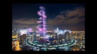 happy new year 2019 burj khalifa dubai