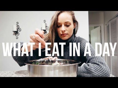 What I Eat In A Day  day of eating  RENEE AMBERG